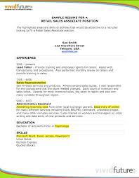 retail associate resume sample   good resume sampleexample of resume retail associate  retail  s associate resume sample