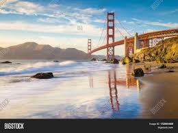 Blue Light In San Francisco Sky Classic Panoramic View Image Photo Free Trial Bigstock