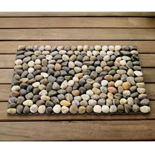 River Stone Floor Mat