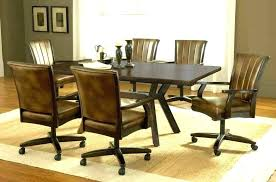 chairs with casters wonderful dining chair on casters dining dining chairs on casters upholstered dining chairs
