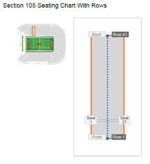 Unlv Football Sam Boyd Stadium Seating Chart Interactive