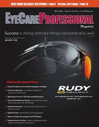 Vsp Signature Plan Lens Enhancements Chart Eyecare Professional Magazine March 2012 Issue By Ecp