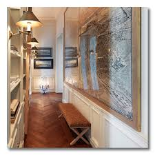 decorate a narrow entryway