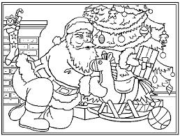 Kerst Kleurplaat Kerstman