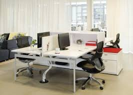 open office design ideas. office u0026 workspace stylish white sleek cubicles with exclusive swivel chairs design ideas modern open by boora