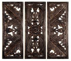 en wood medallion wall decor decorating tips for small apartments