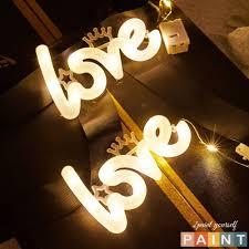 Đèn Led trang trí phòng chữ LOVE decor bàn học (đã kèm pin) chính hãng  29,000đ