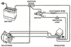 how dow i wire up a alternator one diagram is a regulator and the other out