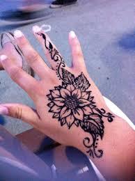 Sunflower Henna Tattoo узоры хной хна узоры хной и мехенди