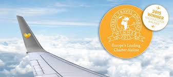 thomas cook airlines voted europe s leading charter airline