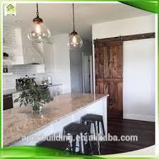 rustic styles wood sliding barn door system bathroom vanity