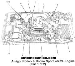 isuzu rodeo engine diagram isuzu wiring diagrams