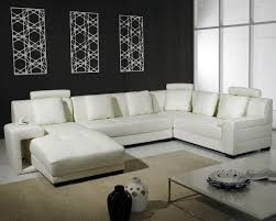 furniture cool leather sectional sofa designs  sipfon home deco