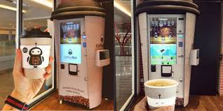 Toast Vending Machine Amazing Christine's Bakery CoffeeBot Automated Coffee Vending Machine In KL