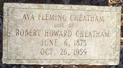 Ava Fleming Cheatham (1875-1959) - Find A Grave Memorial