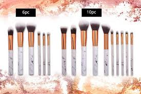 marble makeup brushes. marble makeup brushes