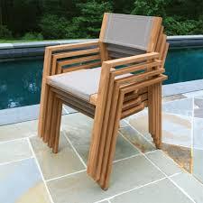teak wood chair summit stacking