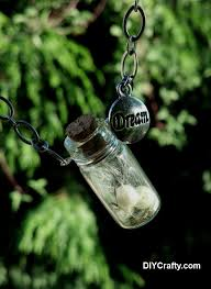 wishes and dreams glass bottle necklace