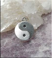 yin yang necklace everyday silver zen yin and yang jewelry