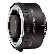Nikon Af S Tc 17e Ii 1 7x Teleconverter Lens Black