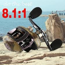 Perlengkapan Memancing: <b>12</b>+<b>1BB 8.1:1</b> Baitcasting Fishing Reel ...
