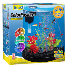 small screenshot 1 office fish. amazoncom tetra 29041 half moon bubbler 3gallon aquarium starter kits pet supplies small screenshot 1 office fish