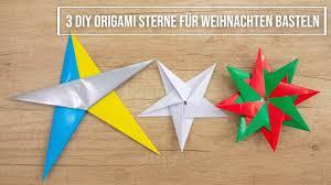 Origami Sterne Aus Papier Basteln 3 Diy Weihnachtssterne