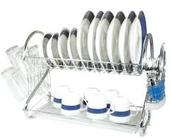 Dish Drying Rack Walmart Simple Excellent Stainless Steel Dish Drying Rack B32 Stainless Steel