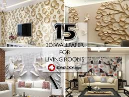 best 3d wallpaper for living room