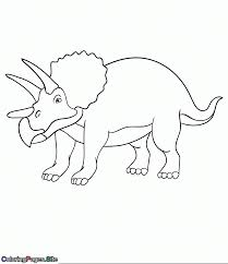 Coloring Pages Fantastic Triceratops Coloring Page Triceratops