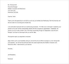 Thank You Letter For Interview Basic Guides