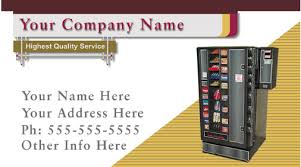 Vending Machines Locator Service Cool Vending Business Cards Vending Service Cards Vending Machine Cards