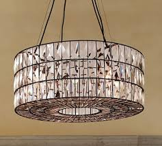 pottery barn adeline crystal chandelier pottery barn lighting