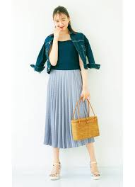 流行りレディースコーデ2019夏20代30代におすすめ スカートや