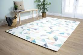 pastel fl area rugs laude run quilted pastels cream rug