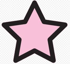 별 이모티콘, 핑크 png | Klipartz