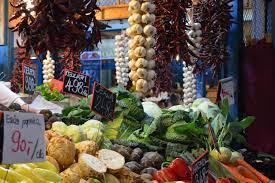 budapest, fruits, market, vegetables ...