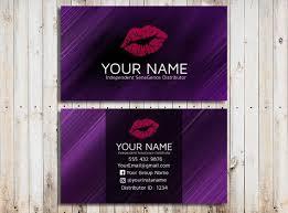 Lipsense Business Card Template Lipsense Business Cards Template