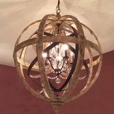 wood drum chandelier original wooden orb chandelier metal orb detail and crystal images