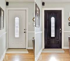 interior doors painted a dramatic glossy black so maybe this will sway me to paint