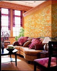 Brass Hill Design  Project Photos A Colorful Chinoiserie Living Chinoiserie Living Room