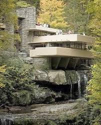 Famous Modern Architect Frank Lloyd Wright. Fallingwater ...