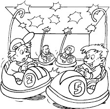 Carnival Games Coloring Pages 2019 Open Coloring Pages