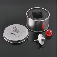 <b>Mini</b> Great Zinc <b>Alloy</b> Silver Spinning Top From Inception Totem ...