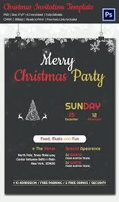 Editable Party Invitation Template Download Christmas Invite