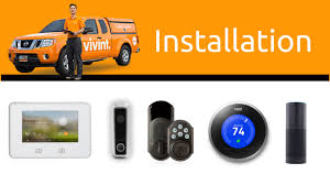 security installation. vivint smart home and security installation process