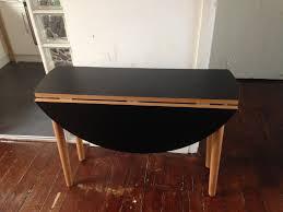 habitat suki folding round dining table
