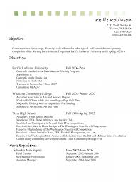 Resume Templatejective Cashier Sample For Experience Templates Job