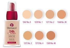 jeho cena se pohybuje okolo 200 300kč někdy může být i nižší můžeš ho koupit jak dermacol 24h control make up dermacol