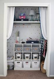 office in a closet. 4th Bedroom From A Guest Room Into His/hers Shared Office Space. One That Can Still Accommodate Guests. Upping The Functionality Of Closet Played In